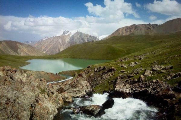 Teshik-Kul Lake