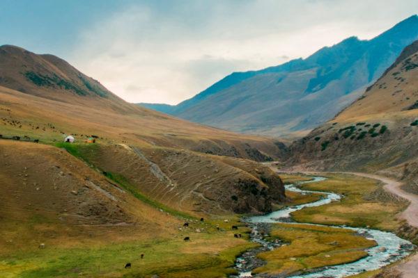 The Western Karakol Gorge