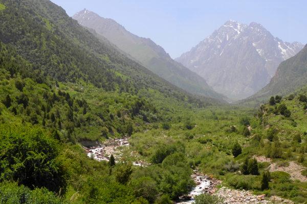 Ущелье Иссык-Ата